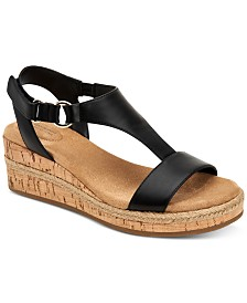 Giani Bernini Terrii Wedge Sandals, Created for Macy's