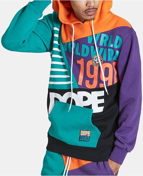 DOPE Men's Blockboy Graphic Hoodie