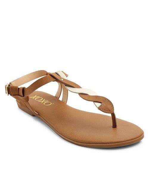 f74472a3364b XOXO Fresno Braided Thong Sandals   Reviews - Ladies Shoes - SLP ...