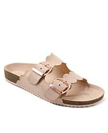 XOXO Lebanon Footbed Double Banded Sandals