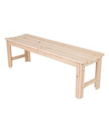 5 Ft. Backless Garden Bench