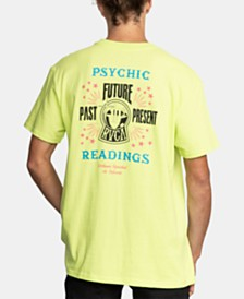 RVCA Men's Dmote Psychic Logo Graphic T-Shirt