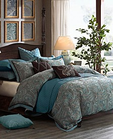 Hampton Hill Lauren King 9 Piece Comforter Set