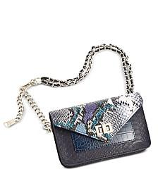 Steve Madden Faux-Leather Chain Belt Bag