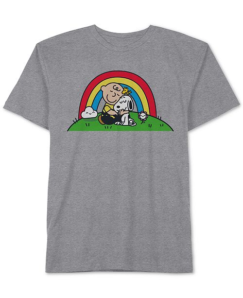 Jem Peanuts Collection- Toddler & Little Boys Charlie Brown Graphic T-Shirt