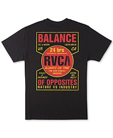 RVCA Men's Insured Logo Graphic T-Shirt