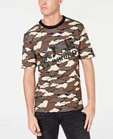 Love Moschino Men's Cloud Camo Logo Graphic T-Shirt