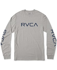 RVCA Men's Big Logo Graphic T-Shirt