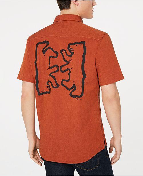 Hugo Boss HUGO Men's Bear Back Shirt