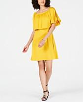 8b7816f4264 Yellow Dresses for Women - Macy s
