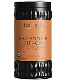 Tea Forte LTC Chamomile Citron Herbal Loose-Leaf Tea