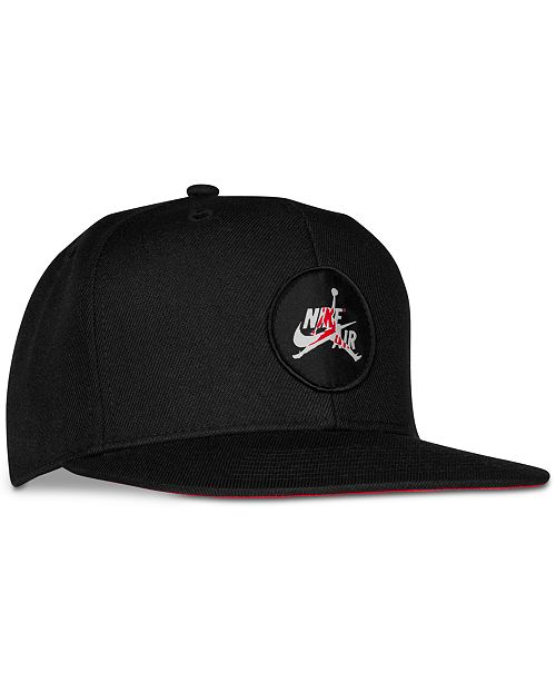 Jordan Big Boys Jumpman Flat Brim Hat