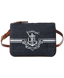 Lauren Ralph Lauren Huntley Logo Belt Bag