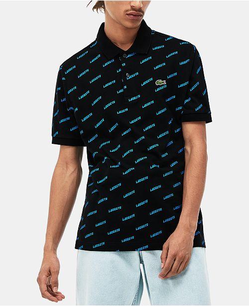 Lacoste Men's L!VE Ultra-Slim Fit Logo Polo