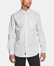 Men's Tye Dye Printed Shirt, Created for Macy's