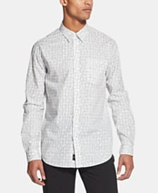 DKNY Men's Tye Dye Printed Shirt, Created for Macy's