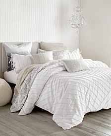 Home Linear Loop Full/Queen Comforter Set