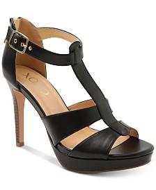 XOXO Belinda Platform Dress Sandals