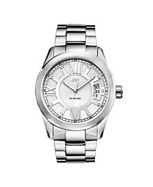 Men's Bond Diamond (1/10 ct.t.w.) Stainless Steel Watch