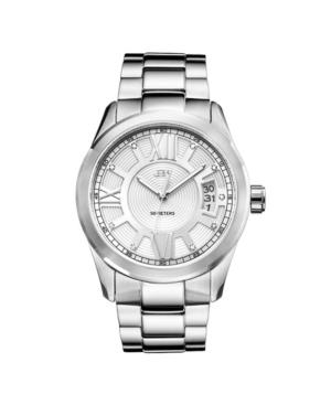 Men's Bond Diamond (1/10 ct.t.w.) Stainless Steel Watch