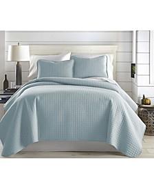 Oversized Lightweight Quilt and Sham Set