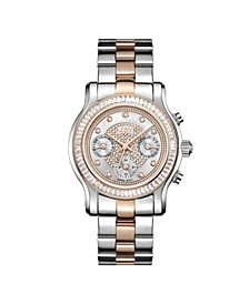 Women's Laurel Diamond (1/10 ct.t.w.) Stainless Steel Watch