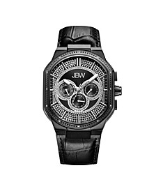 Men's Orion Diamond (1/8 ct.t.w.) Black Ion-Plated Stainless Steel Watch