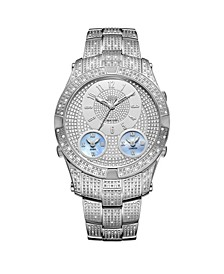 Men's Jet Setter III Diamond (1 ct.t.w.) Stainless Steel Watch