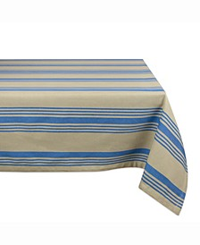 "Table cloth Sailor Stripe 60"" X 104"""