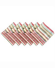 Summer Stripe Outdoor Napkin Set of 6
