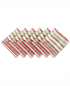 Summer Stripe Outdoor Napkin Set of 6