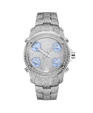 Jbw Men's Jet Setter Diamond (2 ct.t.w.) Stainless Steel Watch