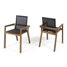 Belfast Outdoor Dining Chair, Quick Ship (Set of 2)