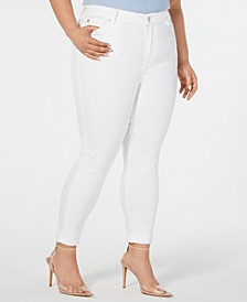 Plus Size  High-Rise Cropped Skinny Ankle Jeans