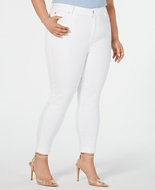 Celebrity Pink Plus Size  High-Rise Cropped Skinny Ankle Jeans