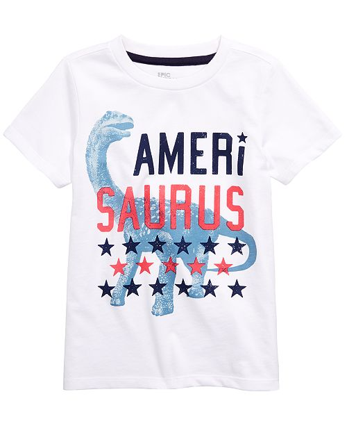 Epic Threads Toddler Boys Amerisaurus T-Shirt, Created for Macy's
