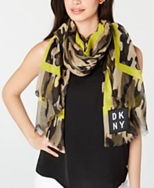 DKNY Camo Pareo Wrap