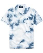 2bf891236 Polo Ralph Lauren Toddler Boys Tie-Dyed Cotton Mesh Polo Shirt
