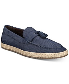 Bar III Men's Verro Espadrille Loafers, Created for Macy's