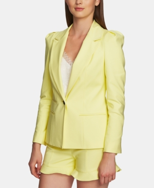 1.state Blazers ONE-BUTTON FITTED BLAZER