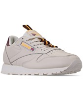 1ac882a44e7 Reebok Men s Classic Leather MU Casual Sneakers from Finish Line