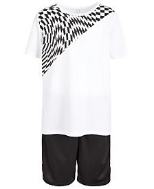Ideology Big Boys Longer Graphic T-Shirt & Mesh-Trimmed Shorts