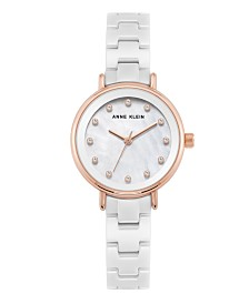 Anne Klein Genuine Mother of Pearl Dial Watch