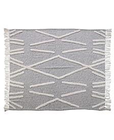 Crossing Lines Throw Blanket
