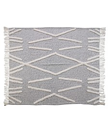 Crossing Lines Throw Blanket