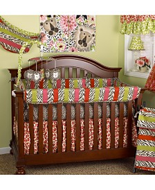 Here Kitty Kitty 4-Piece Crib Bedding Set  Set