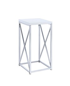 Homestead Accent Table with X-Shaped Base