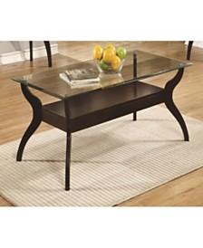 Corbin Coffee Table with Non-Bulky Legs