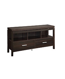Clement 2-Drawer TV Console with 3 Storage Compartments