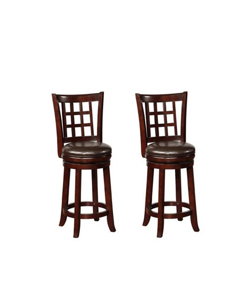 Astonishing Bryan Swivel Counter Height Stools With Upholstered Seat Gmtry Best Dining Table And Chair Ideas Images Gmtryco
